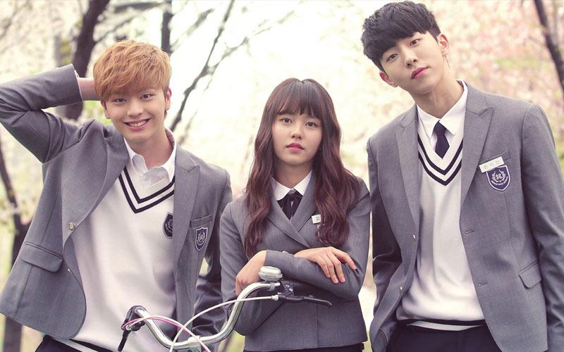 ซีรี่ย์เกาหลี Who Are You – School