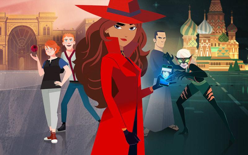 ดูซีรี่ย์การ์ตูน carmen sandiego จอมโจรสาวนักท่องโลก