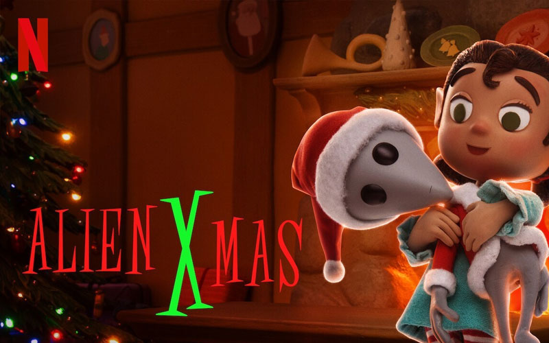 ดูซีรี่ย์ Alien Xmas คริสต์มาสฉบับต่างดาว