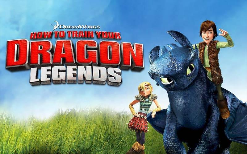 ดูซีรี่ย์ Dragons: How to train your dragon อภินิหารไวกิ้งพิชิตมังกร
